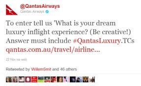 #QantasLuxury