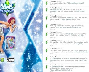 @TheSims3 Twitter page