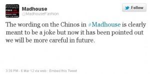 Madhouse response