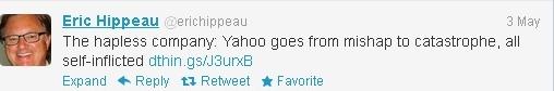 Ex-board member Tweet