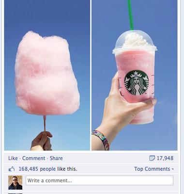 Starbucks Frappuccino CottonCandy