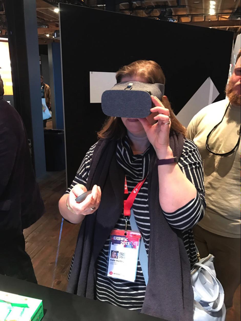 Kate VR Headset sxsw